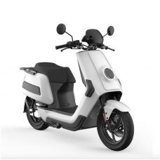 NIU NQi Cargo Electric Scooter For Deliveries - White