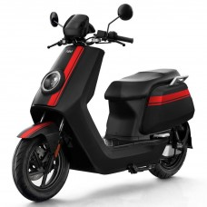 NIU NQi GTs Pro Electric Scooter - Black With Red Stripes