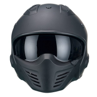 VITO Helmet BRUZANO - Black, L