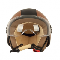 VITO Helmet AMSTERDAM - Brown, L