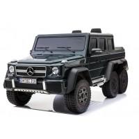 Bērnu elektromobilis - Mercedes G63 6 wheels (Black)