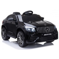 Bērnu elektromobilis - Mercedes GLC63S (Black)