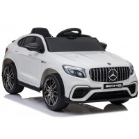 Bērnu elektromobilis - Mercedes GLC63S  (White)