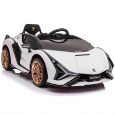 Bērnu elektromobilis - Lamborghini Sian (White)