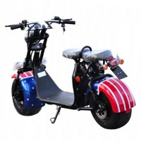 Electric Scooter CITY COCO 1500W/20Ah / USA flag