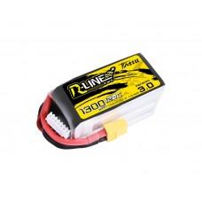 Tattu R-Line Version 3.0 1300mAh 6s 120c LiPo Pack (XT60