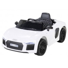 Bērnu elektromobilis - Audi R8 (White)