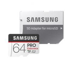Samsung PRO Endurance 64GB MicroSD + Adapter