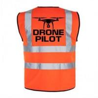 Drone Pilot Vest - Red