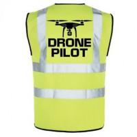 Drone Pilot Vest - Yellow