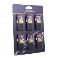 Tattu 350mAh 3.7V 30C 1S1P Lipo Battery Pack with Molex Plug(6 pcs/pack)