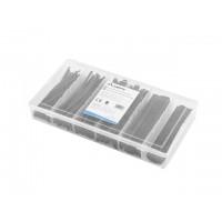 Lanberg Heat-Shrinkable Tubing Kit Black Box 100pcs