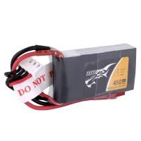 Tattu 450mAh 3S1P 45C 11.1V Lipo Battery Pack With JST-SYP
