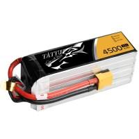 Tattu 4500mAh 22.2V 25C 6S1P Lipo Battery Pack with XT90