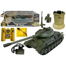 R/C Tank T-34 with Enemy Bunker 1:28